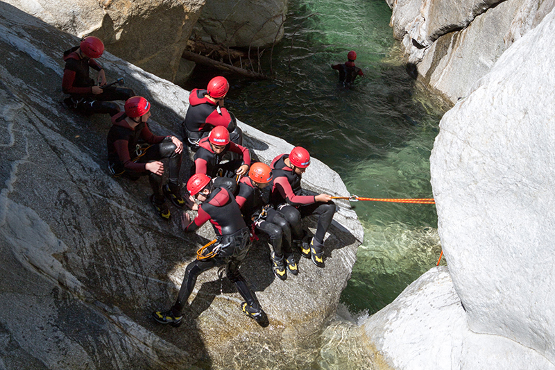 Canyoning Im Zillertal